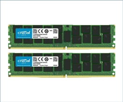 Crucial Memory Bundle with 64GB (2 x 32GB) DDR4 PC4-21300 2666MHz from Aventis Systems