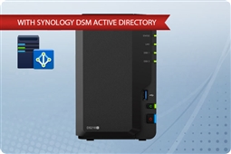 Synology DiskStation DS218+  Plug and Play Active Directory NAS Server from Aventis Systems