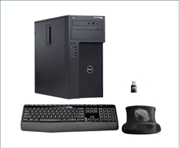 Dell Precision T1700 Workstation Bundle with WiFi, Wireless Keyboard and Mouse Special from Aventis Systems