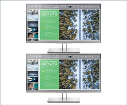 HP EliteDisplay E243 23.8-Inch Screen LED-Lit 2-Pack Monitor Special from Aventis Systems