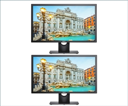Dell E2417H 24 Inch FHD LED LCD Business Monitor 2-Pack Special from Aventis Systems