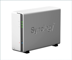"Synology DiskStation DS120j Single Bay 2.5"" NAS from Aventis Systems"
