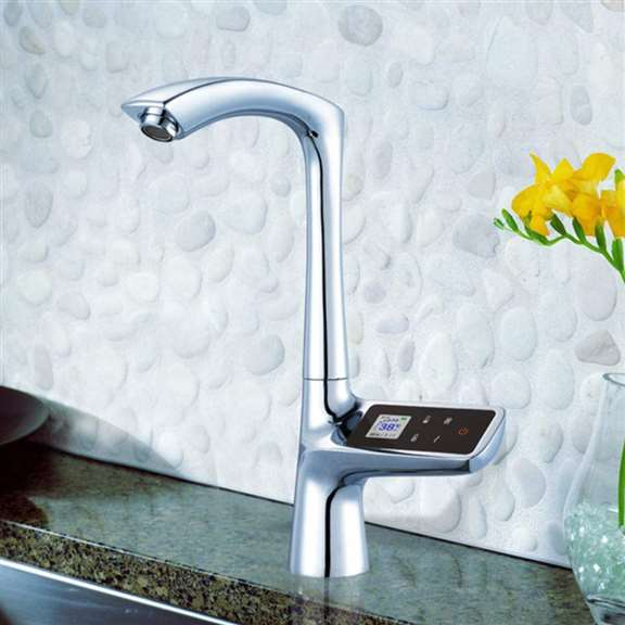 Alea Kitchen Sink Faucet with Hot and Cold Mixer
