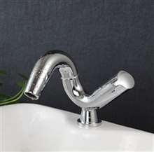 Sestos Deck Mounted Bathroom Sink Faucet