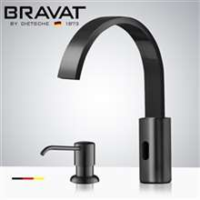 Fontana Commercial Dark ORB Touch less Automatic Sensor Faucet