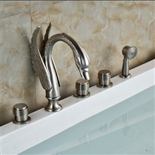 Acerra Deck Mount Bathroom Bathtub Faucet Widespread Tub Mixer Taps