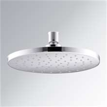 Fontana Chatou Polished Chrome 1.75 GPM Rain Shower Head with MasterClean Spray Face and Katalyst Air-Induction Technology