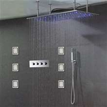 Lima Luxury Stainless Steel Shower Set