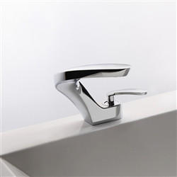 Venice Contemporary Design Bathroom Basin Faucet Chrome Finish