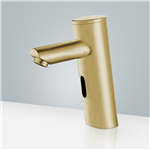 Gold Tone Plated Platinum Commercial Thermostatic Automatic Sensor Tap Solid Brass Construction