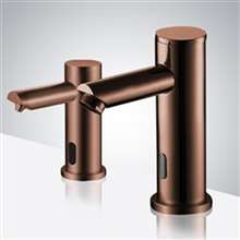 Solo Commercial Automatic Touchless Sensor Faucet with Soap Dispenser