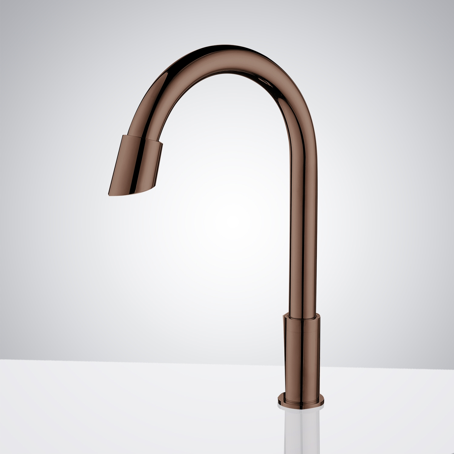 free automatic chrome finish cold contemporary sink faucet sensor features bathroom hands
