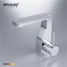 Brass Body Basin Faucet High Performance Chrome Plating Basin Mixer