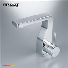 Bravat Brass Body Faucet High Performance Chrome Plating