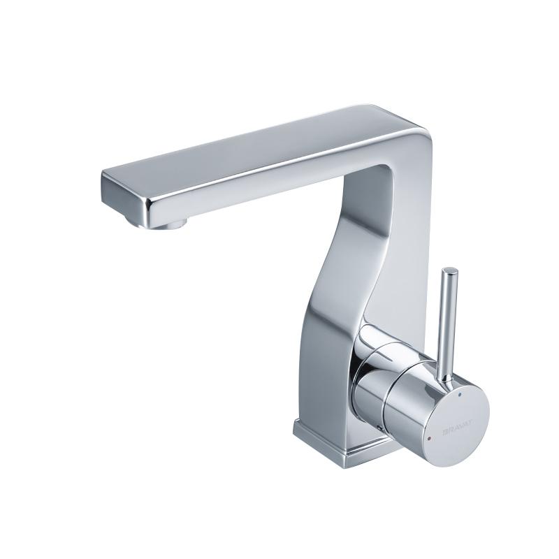 Bravat Brass Body Faucet High Performance Chrome Plating