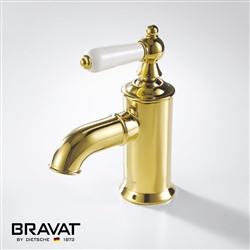 Lubbenau Brilliant Gold Finish Faucet Brass Body