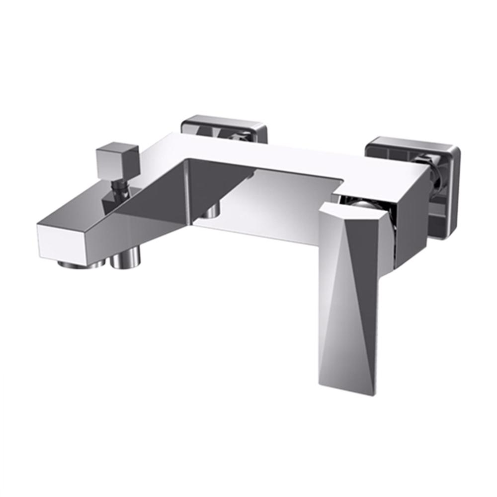 Zäh Single Handle Wall Mounted Bath and Shower Mixer Bathtub Faucet