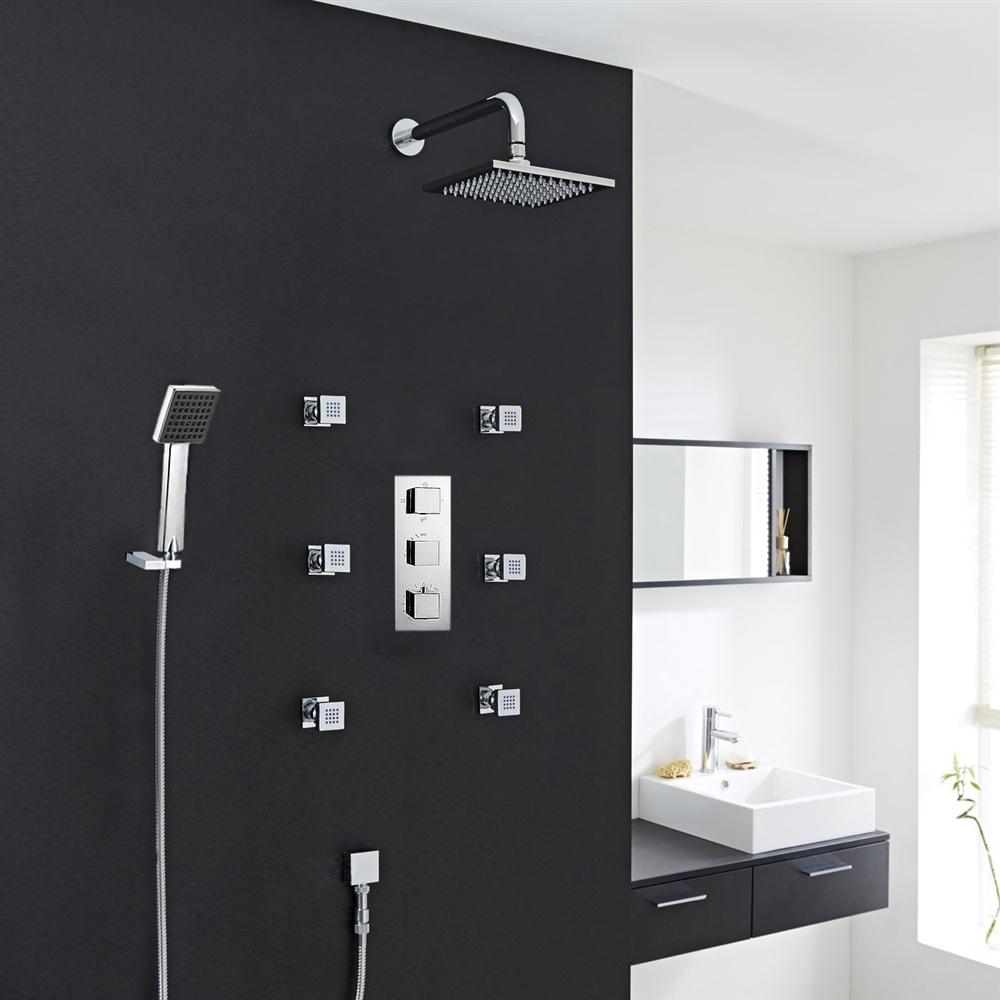 Fontana Chrome Shower System ...