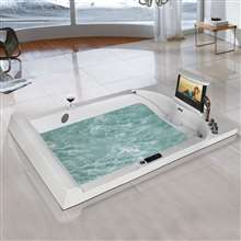Oasis Comfortable Hot Sale Massage Bathtub Recessed Bathtub