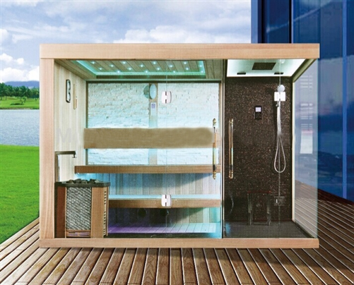 High Quality Rivera Luxury Steam Sauna Room With Shower