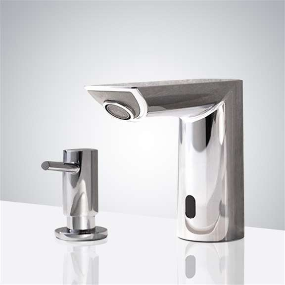 Fontana Commercial Automatic Motion Sensor Faucet and Soap Dispenser