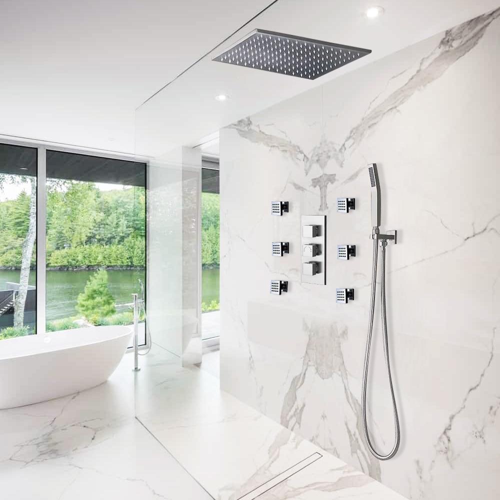 Fontana Rain Mist Shower Head