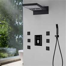 Lima LED Ultra Shower Set Oil Rubbed Bronze Finish