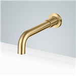 Fontana Gold Wall Mount Commercial Sensor Faucet