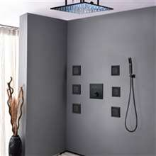 Fontana Royal Digital Rainfall LED Shower System