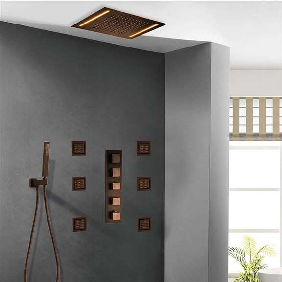 Lima Digital Shower System- Oil Rubbed Bronze
