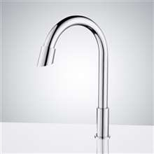 Rio Commercial Goose Neck Touchless Automatic Sensor Faucets Bathroom & Kitchen