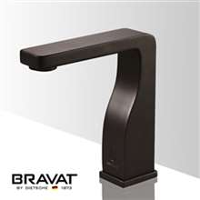 Bravat Commercial Oil Rubbed Bronze Automatic Sensor Faucets