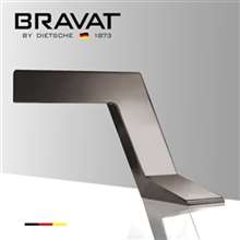 Bravat Commercial Automatic Electronic Brushed Nickel Faucet