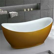 Napoli One Person Modern Simple Freestanding Indoor Bathtub