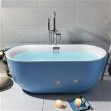 Peru Solid Surface Indoor Freestanding Acrylic Bathtub