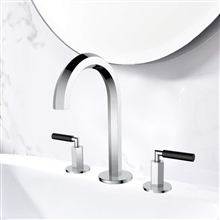 Chicago Luxury Style Double Handle Bathroom Sink Faucet