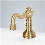 Marseille Deck Mount Polish Gold Electronic Soap Dispenser