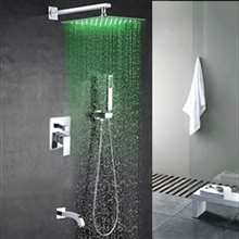Fontana  Perlude Stainless Steel Chrome Finish Shower Set