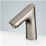 Fontana Commercial Brushed Nickel Touchless Automatic Sensor Faucet