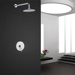 Soriano Wall Mounted Chrome Finish Shower Set