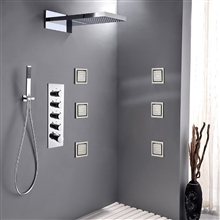 "Brno 22"" Shower Set"