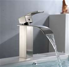 Kamloops Stainless Steel Bathroom Sink Faucet