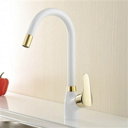 Ercolano Deck Mounted Single Handle Brass Kitchen Faucet