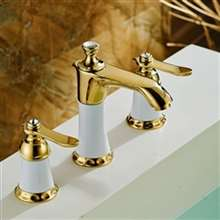 Pas-de-Calais Dual Handle Widespread Bathroom Sink Faucet