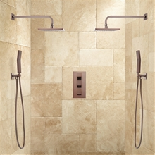 Fontana Couple Showering System in Oil Rubbed Bronze