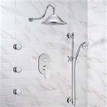 Fontana Couple Showering System Dual Showers with Handshower