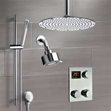 Fontana Couple Showering System Digital Dual Showers with Handshower