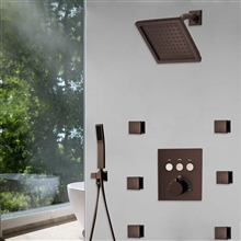 Fontana Couple Showering Dual Showers System