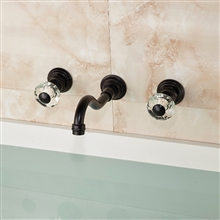 Pavia Oil Rubbed Bronze Bathroom Sink Faucet