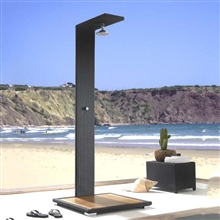 Fontana Toulouse High Quality UV Resistant and Waterproof Wooden Outside Shower